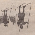 Batons de ski au Groënland en 1888
