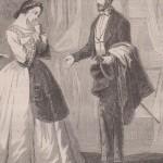 Un homme élégant avec sa canne au XIXe siècle