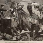 Assassinat à Saint-Petersbourg du colonel Soudeikine, chef de la Police russe - 1884